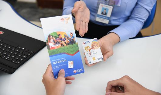 SCB ra mắt thẻ thanh toán SCB beYOU rút tiền miễm phí tại tất cả ATM trong nước