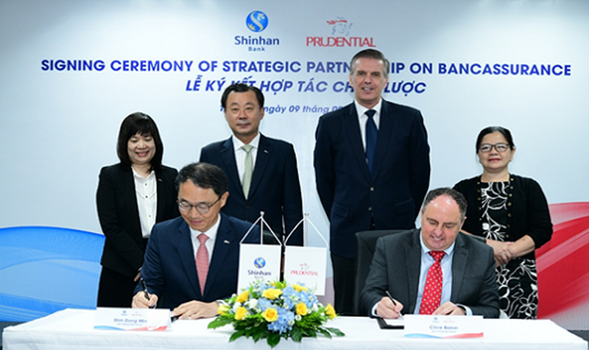 Ngân hàng Shinhan và Prudential Việt Nam hợp tác chiến lược: Thêm nhiều cơ hội cho khách hàng