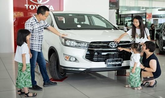 Trong tháng 8/2019, mẫu xe Innova của TMV giảm 36% so với cùng kỳ năm trước