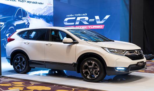 Honda CR-V là mẫu xe nhập khẩu nguyên chiếc bán chạy nhất của HVN