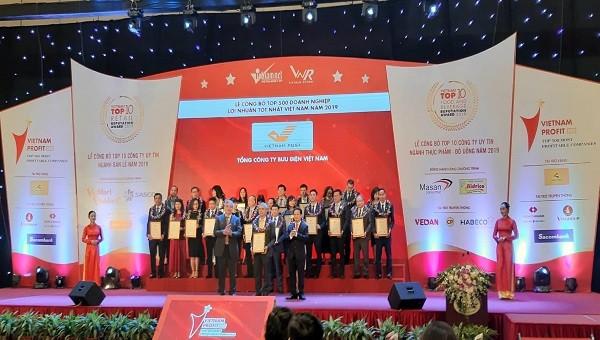 Công bố 500 doanh nghiệp lợi nhuận tốt nhất Việt Nam năm 2019