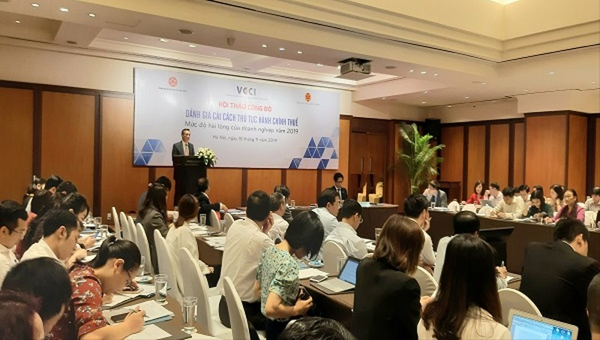Tổng cục Thuế phối hợp với VCCI đánh giá và công bố kết quả cải cách TTHC thuế năm 2019