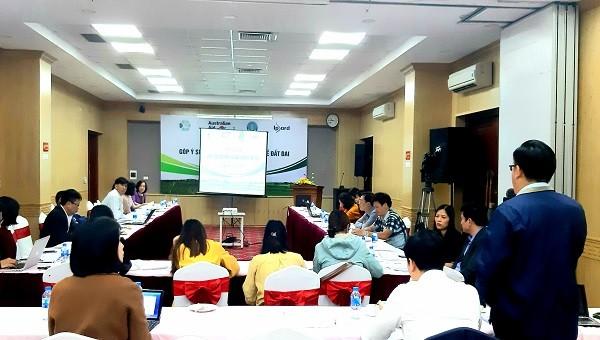 Hội thảo Góp ý sửa đổi một số nghị định về đất đai