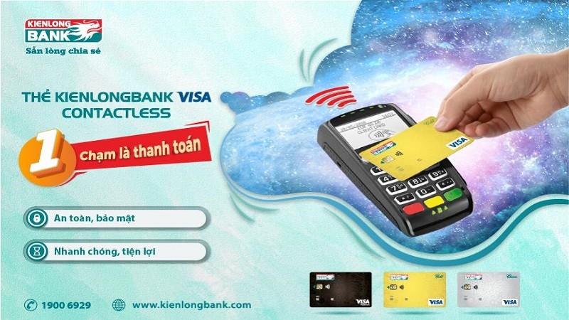 Kienlongbank ra mắt thẻ không cần chạm nhiều tiện ích vượt trội
