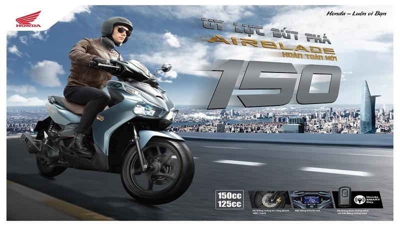 Honda Việt Nam giới thiệu phiên bản Air Blade hoàn toàn mới