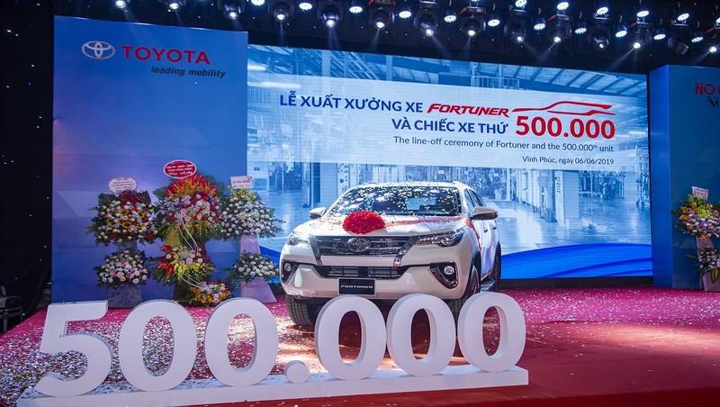 Năm 2019, Toyota Việt Nam xuất xưởng hơn 50 nghìn xe