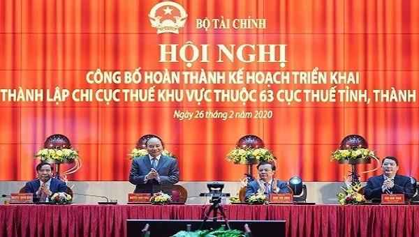 Thủ tướng Nguyễn Xuân Phúc phát biểu tại Hội nghị (ảnh VGP)