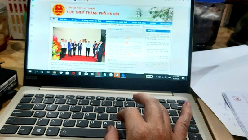 Cách thức cài app Tax booking và hướng dẫn sử dụng được đăng tải chi tiết trên website của Cục Thuế Hà Nội.