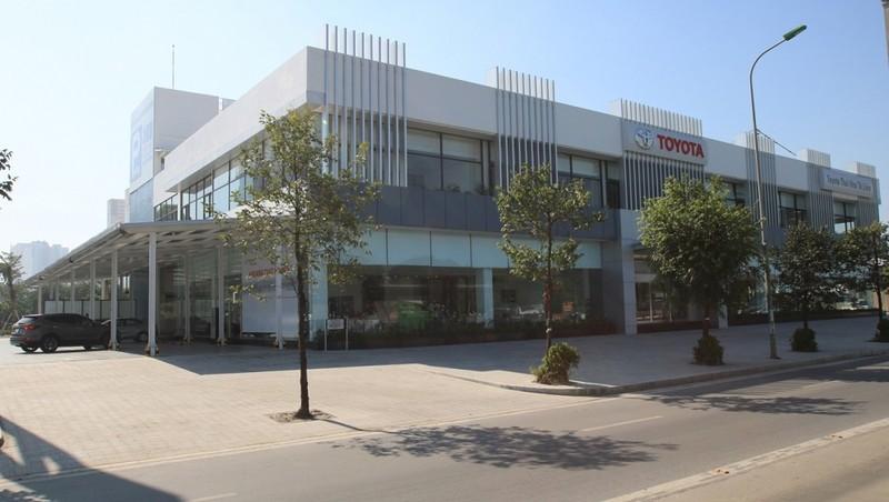 Toyota tại Hà Nội tạm thời đóng cửa phòng trưng bày và xưởng dịch vụ