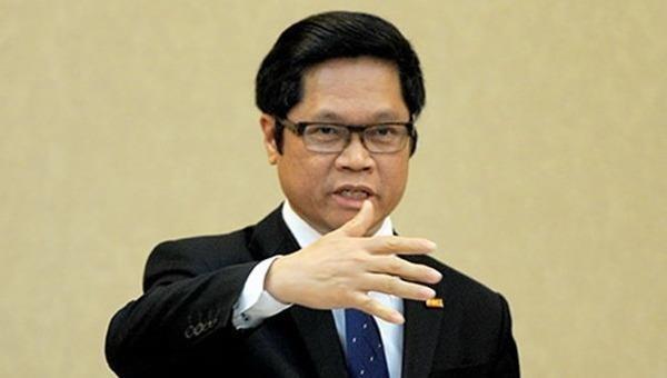 TS Vũ Tiến Lộc - Chủ tịch Phòng Thương mại và Công nghiệp Việt Nam.