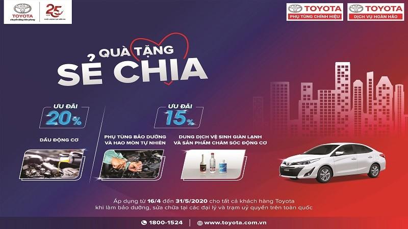 Qùa tặng chia sẻ từ Toyota Việt Nam