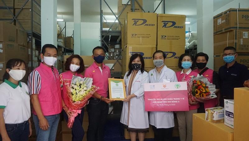 Nu Skin Việt Nam trao tặng thiết bị y tế trị giá hơn 2,5 tỷ đồng cho Bệnh viện Nhi đồng 2