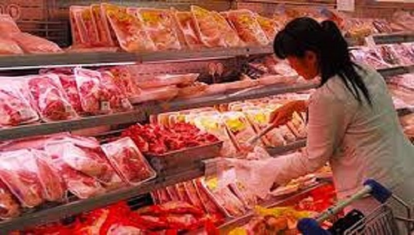 Thịt lợn nhập khẩu đã tăng 300% so với cùng kỳ
