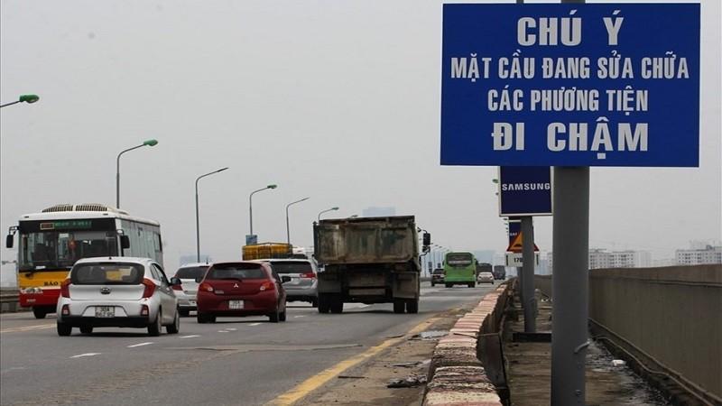 Kinh phí sửa cầu Thăng Long ngót 270 tỷ đồng