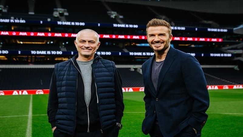 David Beckham và Tottenham Hotspur  xuất hiện trong loạt phim ngắn kêu gọi sống khỏe hơn, lâu hơn, hạnh phúc hơn