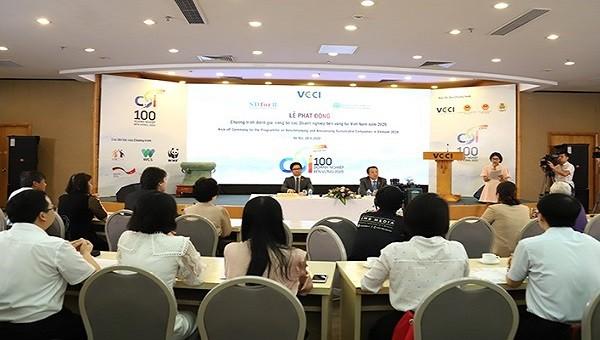 Chính thức phát động chương trình đánh giá, công bố doanh nghiệp (DN) bền vững tại Việt Nam năm 2020,