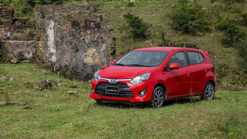 Toyota ưu đãi cho khách hàng khi mua Toyota Wigo trong tháng 6