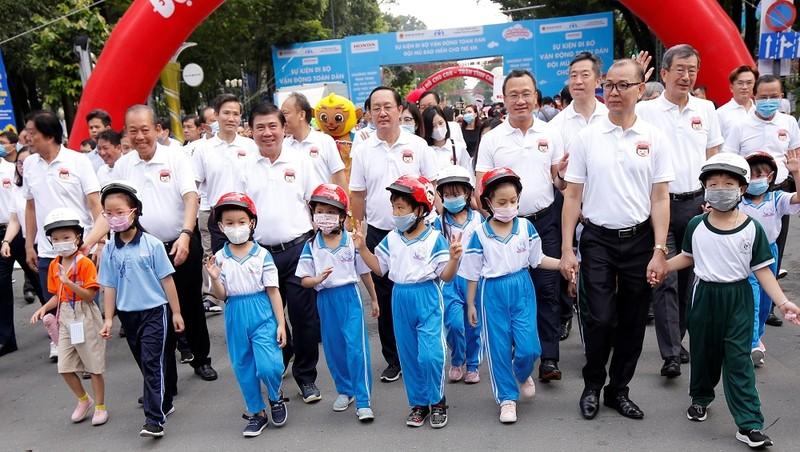 Ủy viên Bộ Chính trị, Phó Thủ tướng Thường trực Trương Hòa Bình tham dự sự kiện.