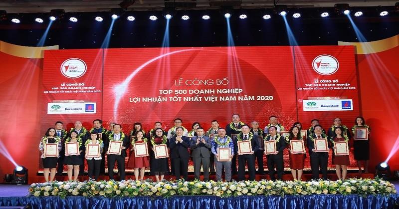 Công bố TOP 500 doanh nghiệp lợi nhuận tốt nhất Việt Nam năm 2020