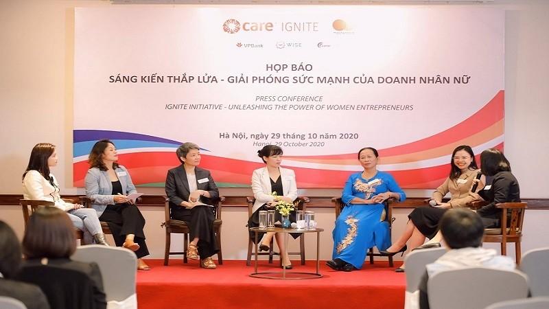 Sáng kiến Thắp lửa hỗ trợ hơn 50.000 DN do phụ nữ làm chủ tại Việt Nam kinh doanh bền vững