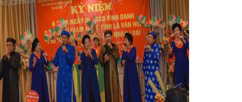 Nhiều nghệ sỹ tham gia biểu diễn tại buổi lễ