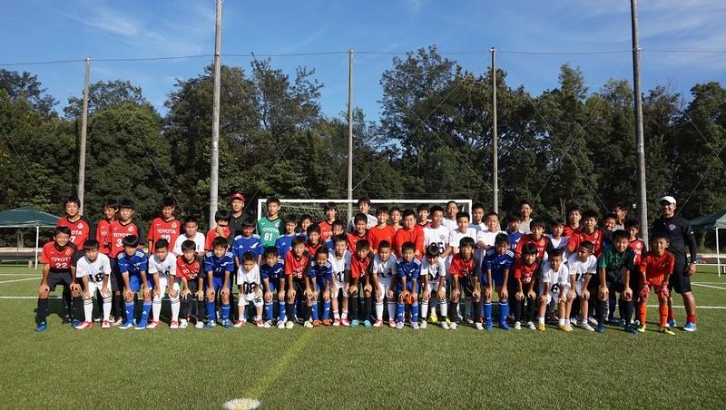 Top 18 Trại hè bóng đá thiếu niên 2019 giao hữu cùng CLB Nagoya Grampus
