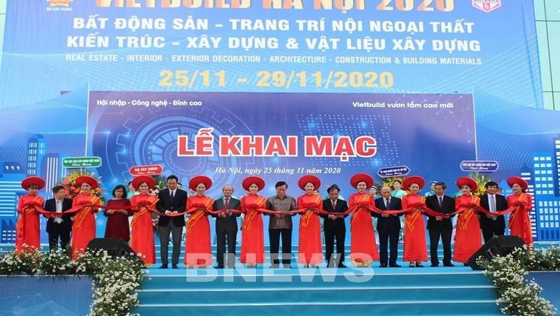 Gần 1.200 gian hàng tham gia VIETBUILD Hà Nội 2020