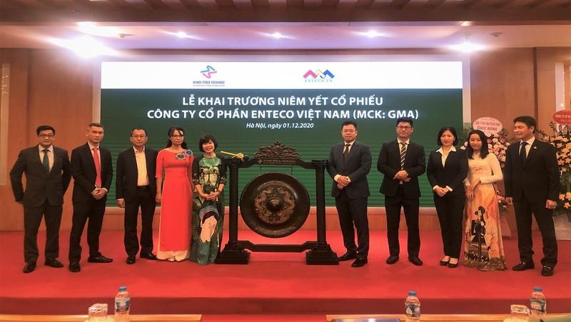 6 triệu cố phiếu CTCP Enteco Việt Nam chính thức được niêm yết trên HNX.