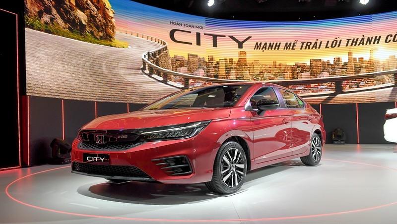 Honda City thế hệ thứ 5 có giá dưới 600 triệu đồng