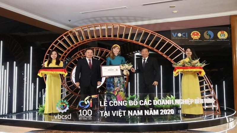 HEINEKEN Việt Nam 5 năm liền được vinh danh trong top 3 doanh nghiệp bền vững nhất Việt Nam
