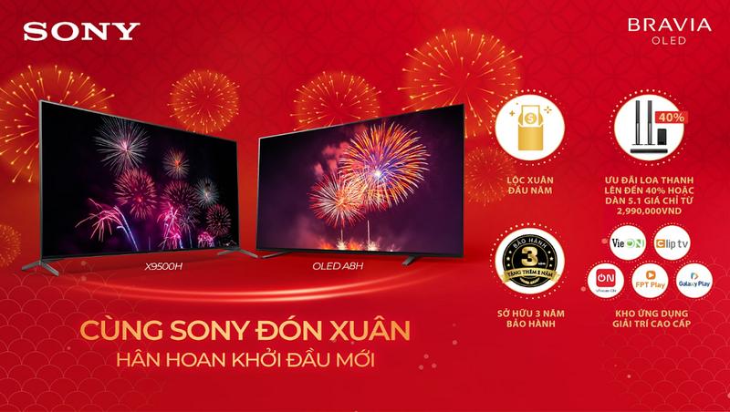Sony Electronics Việt Nam triển khai chương trình khuyến mãi đặc biệt mùa Tết