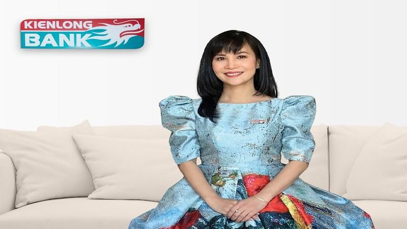 Bà Trần Tuấn Anh, Tổng Giám đốc Kienlongbank đăng ký  mua thêm 300.000 cổ phiếu KLB.