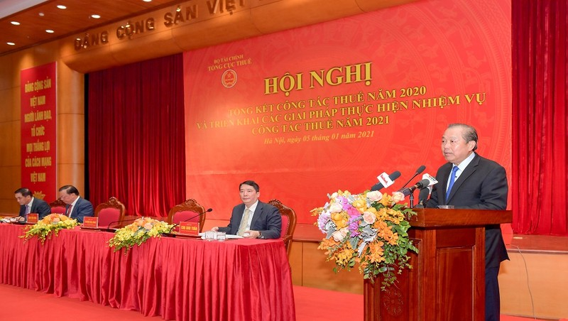 """Phó Thủ tướng Trương Hòa Bình:    """"Vẫn còn một số cán bộ Ngành Thuế còn nhũng nhiễu, thờ ơ…"""""""