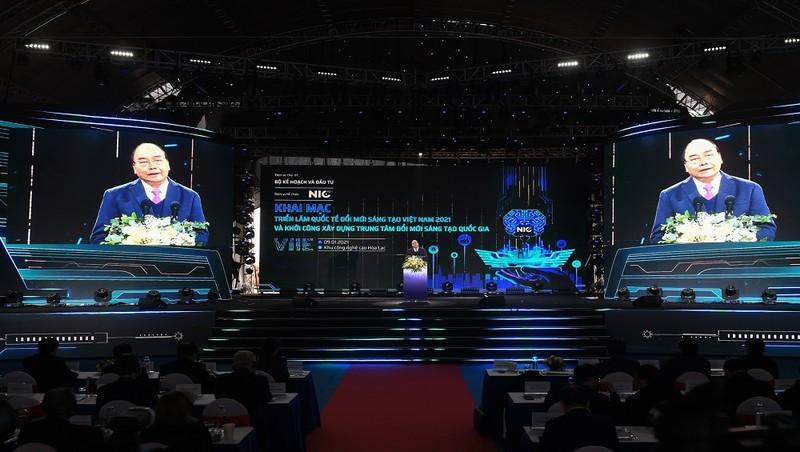 Thủ tướng phát lệnh khởi công xây dựng Trung tâm Đổi mới sáng tạo quốc gia