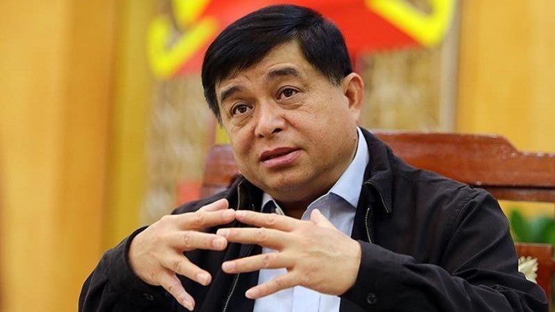 Bộ trưởng Bộ KH&ĐT Nguyễn Chí Dũng.