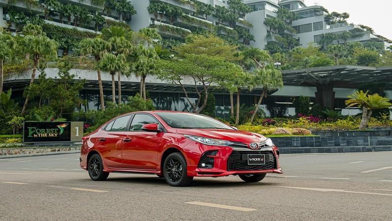 Toyota Vios 2021 - lột xác thiết kế, thêm phiên bản thể thao, giá dưới 638 triệu đồng