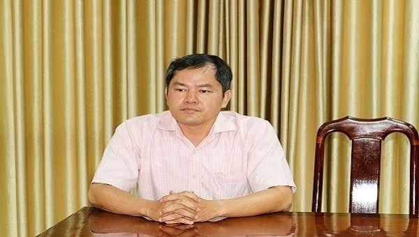 Bị can Nguyễn Xuân Huy, nguyên Đội phó Đội kiểm tra thuế 1 thuộc Chi cục Thuế quận Ninh Kiều.