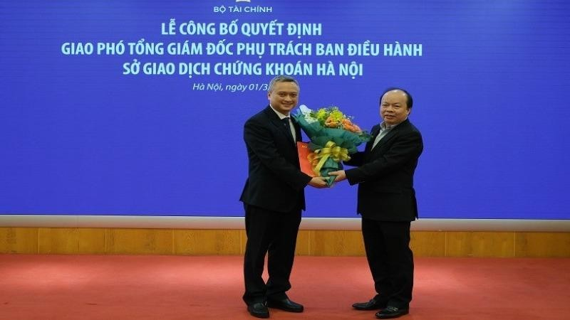 Phó Tổng giám đốc phụ trách Ban điều hành HNX từ 1/3/2021