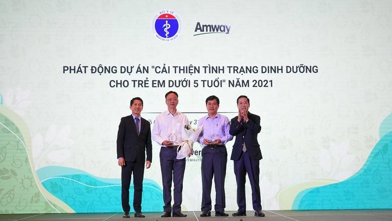 Amway  Việt Nam lần thứ hai nhận Bằng khen của Bộ Y tế