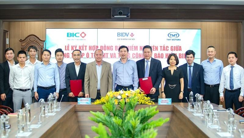 BIC và TMT Motors ký kết hợp đồng bảo hiểm nguyên tắc