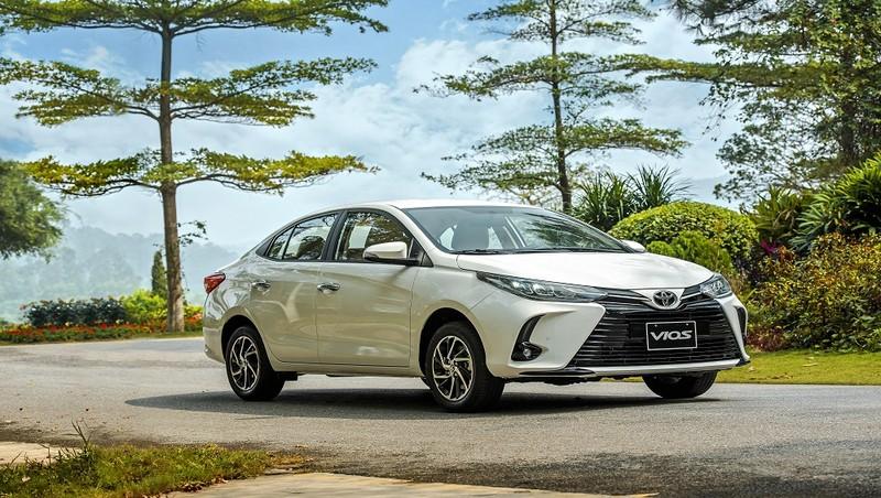 Toyota gia tăng chuỗi giá trị hỗ trợ khách hàng mua xe Vios 2021