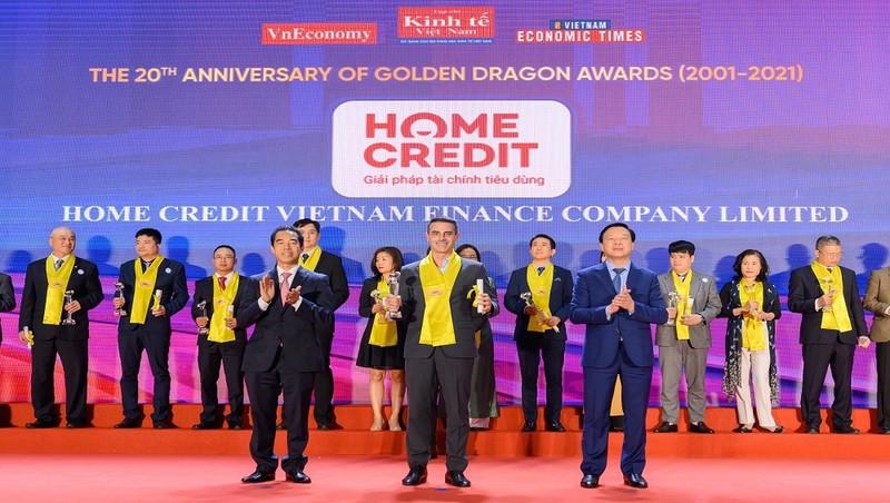 Home Credit đoạt giải thưởng Rồng Vàng dành cho doanh nghiệp FDI tiêu biểu lần thứ 7 liên tiếp