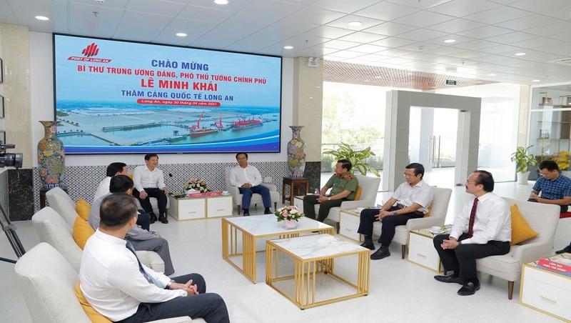 Chủ tịch Dong Tam Group đề xuất  thành lập Chi cục Hải Quan Cửa khẩu Cảng Quốc tế Long An