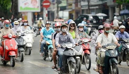 Hà Nội thống nhất phương án dừng thu phí đường bộ xe máy