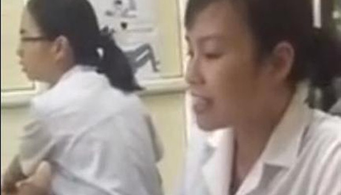 Kỷ luật điều dưỡng Bệnh viện C xúc phạm bệnh nhân hút thai