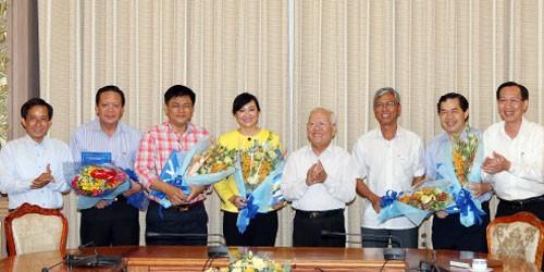 Chủ tịch TP HCM bổ nhiệm một loạt vị trí lãnh đạo