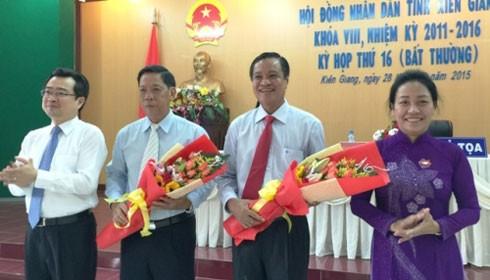Thủ tướng phê chuẩn 3 nhân sự tỉnh Kiên Giang