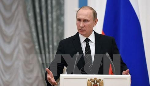 Tổng thống Nga ký sắc lệnh trừng phạt Thổ Nhĩ Kỳ