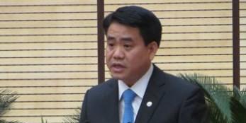 Ông Nguyễn Đức Chung phát biểu nhậm chức (Ảnh: VOV)