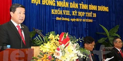 Phó Bí thư tỉnh Bình Dương nhận nhiệm vụ mới